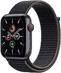 Apple Watch SE (GPS + Cellular, 44mm) w/ Sport Loop $309.99