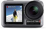 DJI Osmo Action - 4K Action Cam 12MP Digital Camera $183 & More