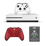 (Back) Xbox One S Console with Ultimate Game Pass + Controller Bundle $385 + Get $105 Kohl's Cash + Free Shipping