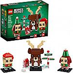 LEGO Brickheadz Reindeer, Elf and Elfie 40353 Building Toy, New 2020 $10