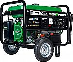 DuroMax XP4850EH Dual Fuel Portable Generator, Green $384