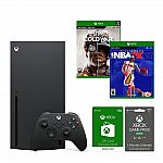 Xbox Series X Competitive Gamer System Bundle $719.99
