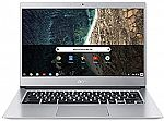 "Acer Chromebook 514 CB514-1H-C47X 14"" Touch FHD Laptop (N3350 4GB 32GB) $299.99"