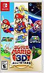 Super Mario 3D All-Stars - Nintendo Switch $49.95