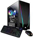 iBUYPOWER Gaming Desktop Trace 4 9310 (Ryzen 5 3600 Radeon RX 5500 XT 8GB 240GB SSD) $699.99