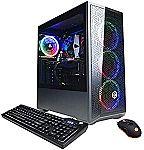 CyberpowerPC Gamer Xtreme VR Gaming PC (i5-10400F GTX 1660 Super 6GB, 8GB 500GB SSD GXiVR8060A10) $949.99