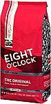 36-oz Eight O'Clock Whole Bean Coffee (The Original) $7.19