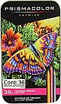36-Ct Prismacolor Colored Pencils + 8-Ct EXPO Ultra Fine Tip Markers $15.77 and more