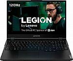 "Lenovo Legion 5 15"" FHD Gaming Laptop (i7-10750H 8GB 512GB GTX 1660 Ti 81Y6000DUS) $899.99"