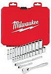 Milwaukee 26-Pieces 1/4 in. Socket Mechanics Tool Set $39.97 & More Tools