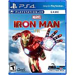 PlayStation Iron Man VR for PS4 $9.99