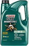 Castrol GTX MAGNATEC 5W-30 Full Synthetic Motor Oil, 5 Qt $17