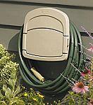 Suncast Deluxe Garden Hose Hangout with Storage Compartment $9.98