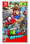 Nintendo Switch Super Mario Odyssey $29.99, Super Mario Maker 2 $29.99 and more