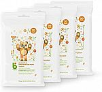 4-pack Babyganics Alcohol-Free Hand Sanitizer Wipes (20 ct each) $4.25 and more