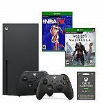Xbox Series X Holiday System Bundle $735