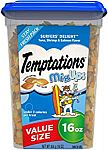TEMPTATIONS MixUps Crunchy and Soft Cat Treats, 16 oz. (3 for $12)