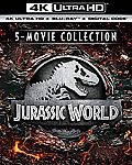 Jurassic World 5-Movie Collection (4K Ultra HD + Digital) [Blu-ray] $39.99 and more