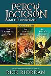 Percy Jackson and the Olympians: Books I-III [Kindle Edition] $0.99