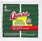 6-pack Quickie Long Lasting Heavy Duty Scrubber Sponge $3.06