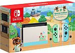 Nintendo Switch Console Animal Crossing: New Horizons Edition $299