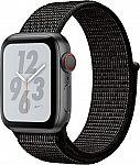 Apple - Apple Watch Nike+ Series 4 (GPS + Cellular) 40mm $349