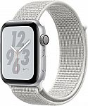 Apple Watch Nike+ Series 4 (GPS) 44mm Space Gray Aluminum Case with White Nike Sport Loop $279