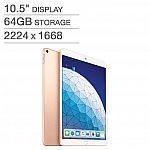 Apple iPad Air (10.5'', Wi-Fi, 64GB) (Latest Model) $399.99