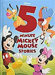 5-Minute Mickey Mouse Stories Hardcover Book $4.33