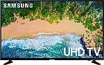 """(Seller refurbished) Samsung 55"""" NU6900 4K Smart LED TV $225"""