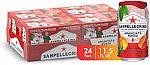 24-Pack 11.15oz. San Pellegrino Sparkling Fruit Beverage (Blood Orange) $12.30