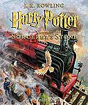 Harry Potter and the Sorcerer's Stone: The Illustrated Edition (Hardcover) $14 (Org $40)