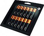 12-count Duracell Optimum 1.5V Alkaline AA Batteries $7.01