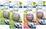 4-Ct Febreze Car Air Fresheners (2x Gain Original + 2x Gain Island Fresh) $6.45