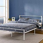 """Zinus Geraldine 12"""" Metal Platform Bed Frame w/ Headboard & Footboard Twin $49; Queen $70; King $66"""