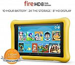 32GB Fire HD 8 Kids Edition Tablet $79.99 (Org $130)