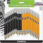 28-Count Zebra Mechanical Pencil (0.7mm Point) $4.12