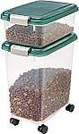 IRIS Airtight Pet Food Storage Container Combo $16.30
