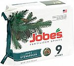 9-Pack Jobe's Evergreen Fertilizer Spikes for Evergreen Trees $3