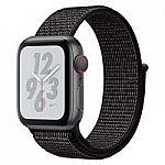 Apple - Apple Watch Nike+ Series 4 (GPS + Cellular) 40mm $319