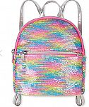 Girls Rainbow Flip Sequin Mini Backpack $6.59 + Free shipping