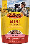 Zuke's Natural Training Dog Treats; Mini Naturals Recipe $3.42