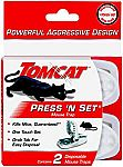 2-Pack Tomcat Press 'N Set Mouse Trap $2.26