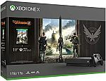 Microsoft Xbox One X Tom Clancys 1TB Bundle $259, Xbox One S 1TB Gears 5 $189 and more