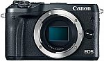 Canon EOS M6 Camera Body $299