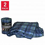 2-Pack Eddie Bauer Home Packable Down Alternative Throw $12