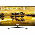"""86"""" LG 86SM9070PUA 4K HDR Smart LED Nanocell TV $2199, 75'' TV $1199"""