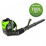 Greenworks Pro 60-Volt Max Lithium Ion 540-CFM Brushless Cordless Electric Leaf Blower $99