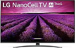 "LG 65"" LED NanoCell 8 Series 4K UHD HDR Smart TV 65SM8100AUA (2019 Model) $557"