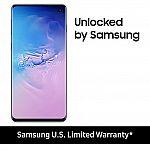128GB Samsung Galaxy S10 Unlocked Smartphone $589, S10+ $689